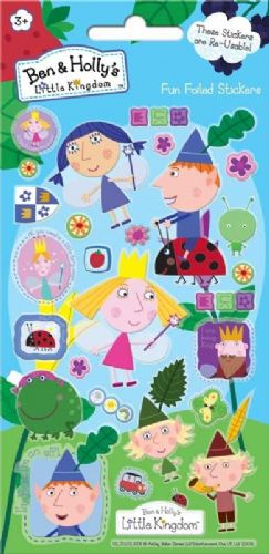 Ben And Holly's Little Kingdom Foil Stickers